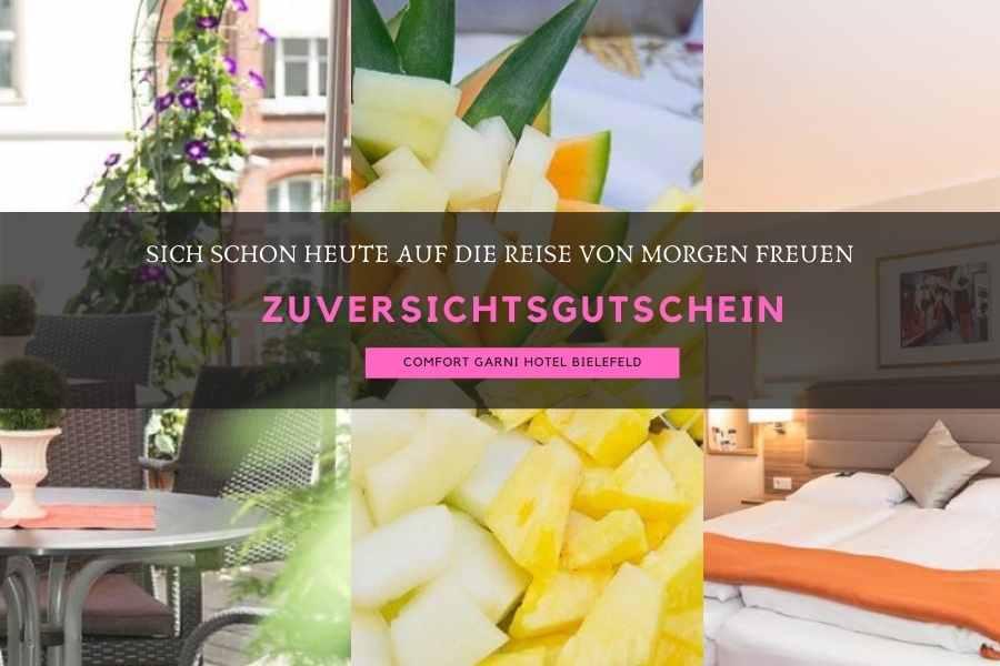 Zuversichtsgutschein Comfort Garni Hotel Bielefeld