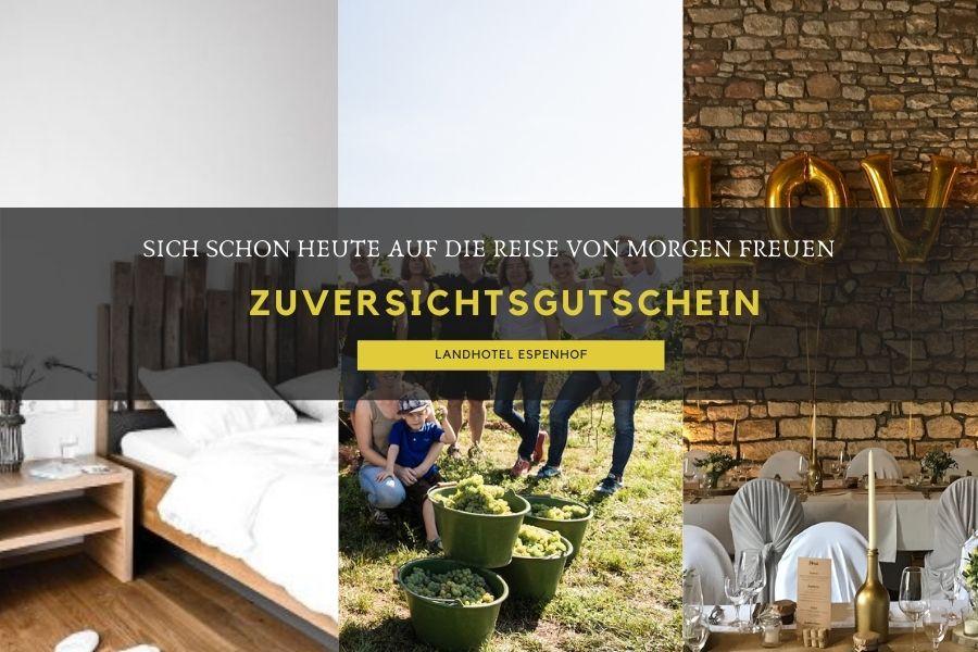 Zuversichtsgutschein Landhotel Espenhof
